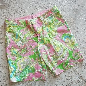 Lilly Pulitzer Chin Chin Avenue Short Sz6